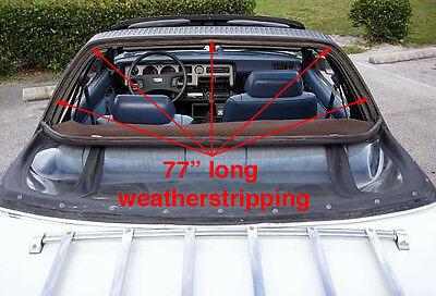 1978-1981 Celica Sunchaser Targa to Door Glass weatherstripping seals NEW!