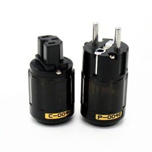 OYAIDE C-004 Power Plug Socket IEC Connector Custom