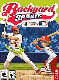 Backyard Sports: Baseball 2007 (PC, 2006) for sale online ...