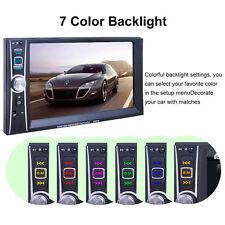 "2 DIN Auto Radio GPS Navi Bluetooth 6.5"" Touch Screen DVD CD MP3 MP4 Player USB."