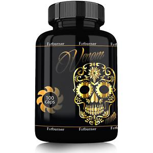 Venom-Fettburner-Diaet-Fatburner-Fettverbrennung-Fat-Burner-abnehmen-100-Caps