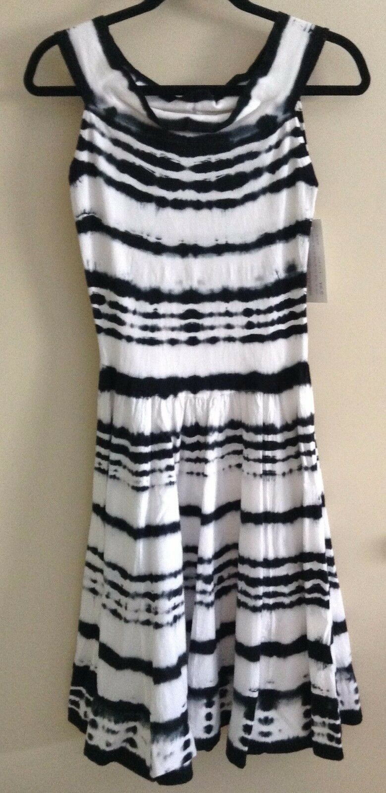 Luna Luz Tie Dye Tank Dress Fitted Bodice Style 43M 43M 43M NEW with Tags  5cd794