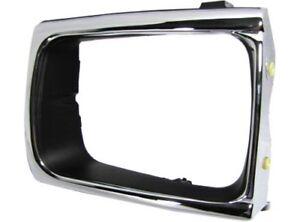 New-Chrome-Headlight-Door-Bezel-Trim-Grille-4WD-Type-Left-LH-Driver-Side