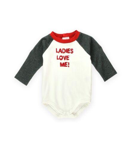 Gymboree Boys Ladies Love Me bodysuit Embellished T-Shirt