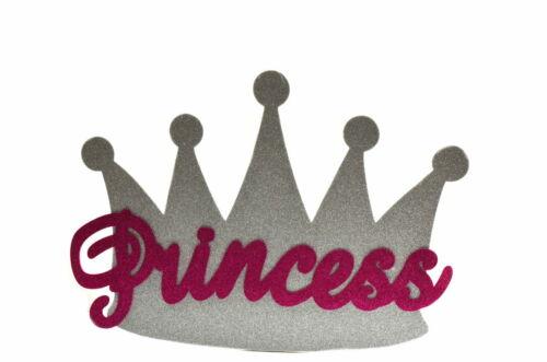 Princess Crown Glitter EVA Foam Wall Backdrop Party Decoration