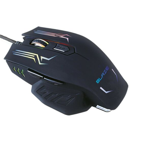 2400 Dpi 4500 FPS Team Scorpion G-Luca Precision Tracking Wired Gaming Mouse