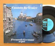 GSGC 14153 Cantata For Venice Fernando Germani Organ 1970 PYE Stereo EX/VG