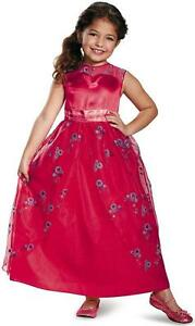 Details About Elena Avalor Ball Gown Disney Princess Fancy Dress Up Halloween Child Costume