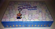 Kidrobot SEALED Case of 20 Blind Boxes --The Simpsons Laser Cut Vinyl Keychains