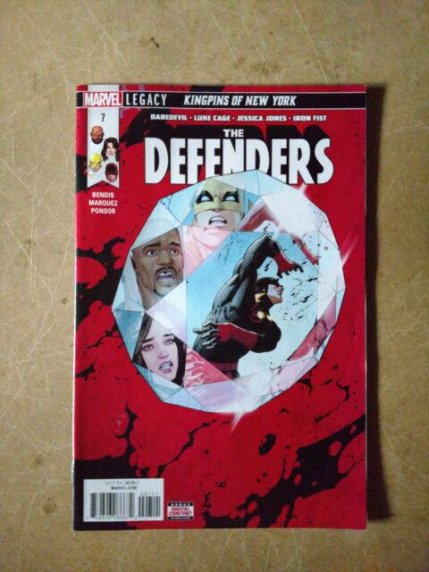 DEFENDERS #7 1ST PRINT MARVEL COMIC(2018) CAGE IRON FIST DAREDEVIL JESSICA JONES