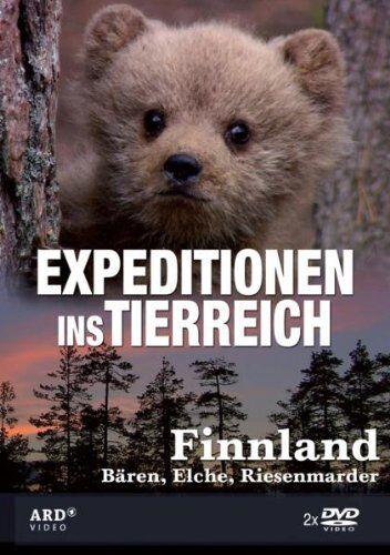 Expeditionen ins Tierreich - Finnland, Bären, Elche, Marder, 2 DVD Set NEU + OVP