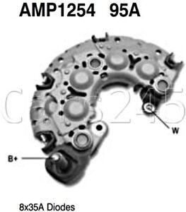 Lichtmaschine Gleichrichter Diodenplatte VW Dioden 8x50A AMP1738