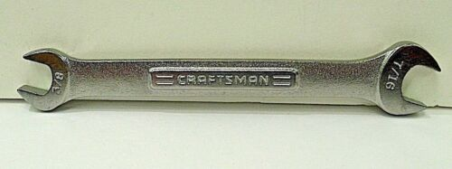 VV 44572 Craftsman Open End Wrench 3//8 x 7//16  No Made in USA New  *