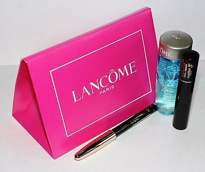 LANCOME MAKE UP EYE KIT - HYPNOSE MASCARA, EYELINER, MAKE-UP REMOVER. GIFT SET