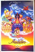 Aladdin - Original Ds Movie Poster - D/s 27x40 Disney Animation