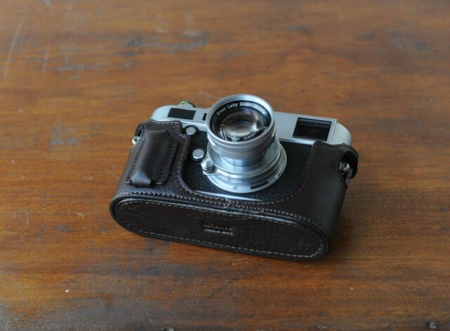 Artisan/&Artist Half Case for Leica M7 Dark Brown
