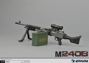 ZY-TOYS-1-6-Scale-US-M240B-Machine-Gun-w-metal-bullet-chain-fit-for-12-034-Figure