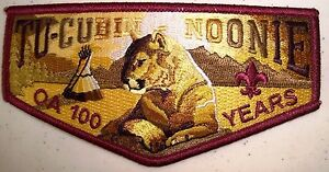 BSA-TU-CUBIN-NOONIE-LODGE-508-UTAH-NATIONAL-PARKS-2015-100TH-OA-CENTENNIAL-FLAP