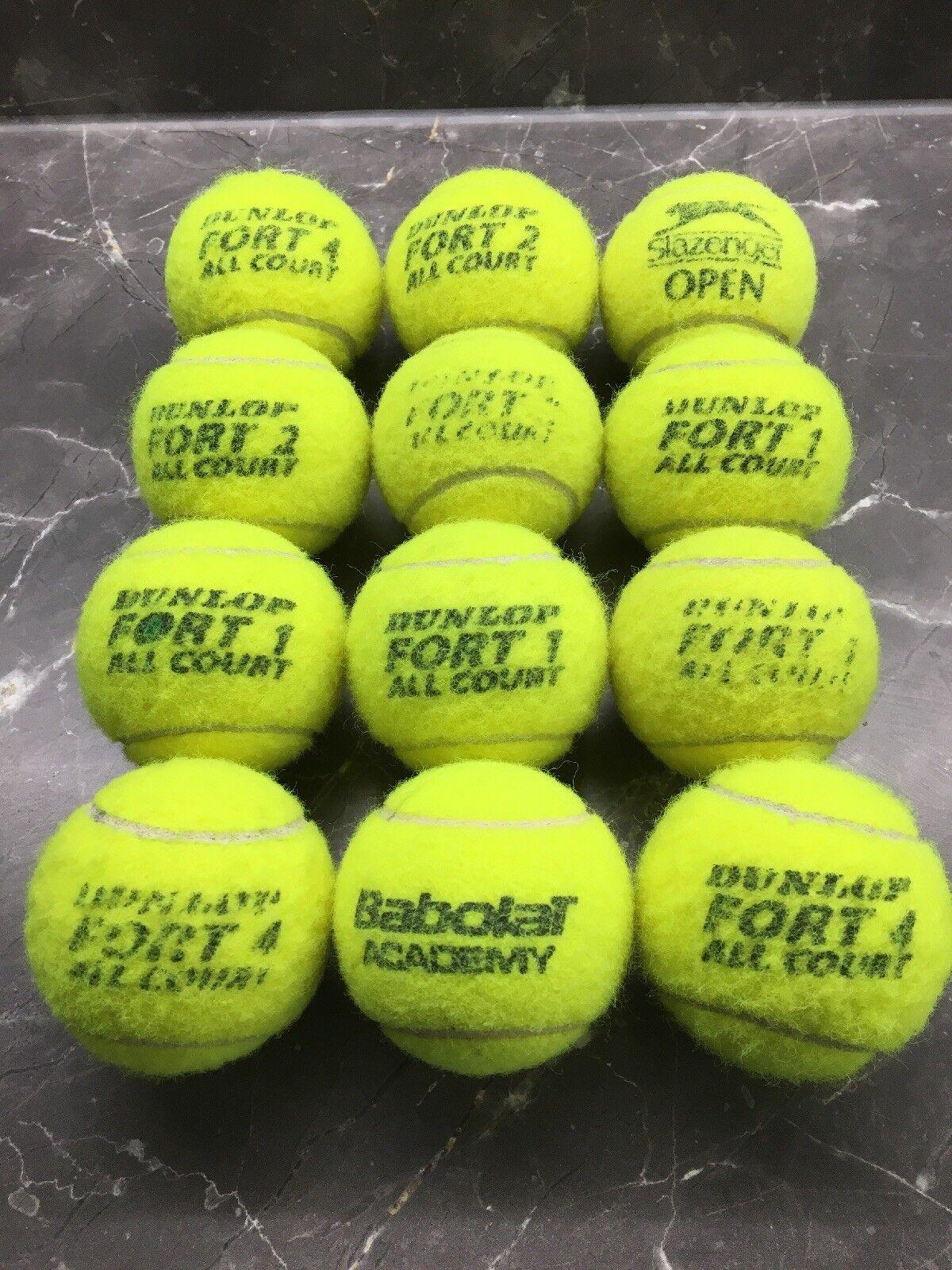 12 utilisées Balles tennis-Mixed de tennis-Mixed Balles Brands. Les Chiens billes, jouet ec48bb