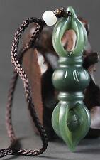 Chinese natural hetian jade hand-carved hetian jade pendant 2.1 inch