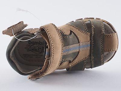 BOOMERS Bambini Kinder Schuhe 20 23 Taupe Bleu Sandalen NEU