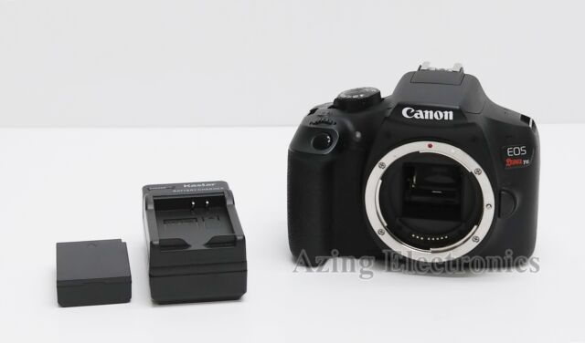 Canon EOS Rebel T6 18.0MP Digital SLR Camera (Body Only)