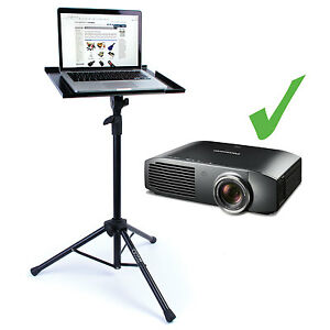 'Nordell' Portable/Adjustable Tripod Stand/Table for Projector/Laptop DJ/Karaoke
