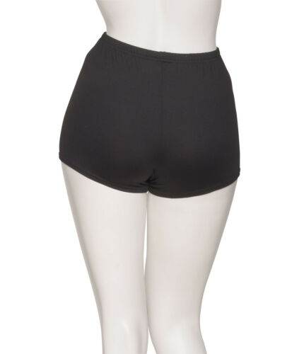 Girls Ladies Matt Lycra Tactel Dance Fitness Gym Hot Pants Shorts KHPT-5 By KATZ