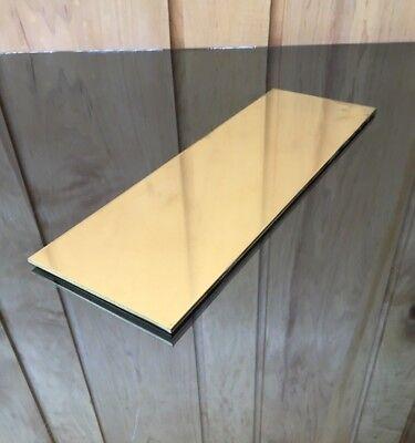 "Set of 4 .125 1//8/"" Copper Sheet Metal Plate 2/"" x 4/"""