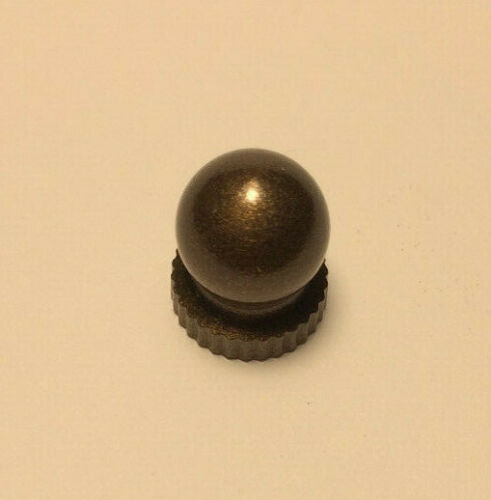 """#BF958B New Small Antique Bronze Knob Finial For Standard Lamp Harps 9//16/"""" ht"""
