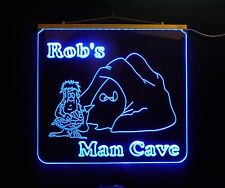 Personalized Man Cave, Garage, Bar, LED Custom Sign
