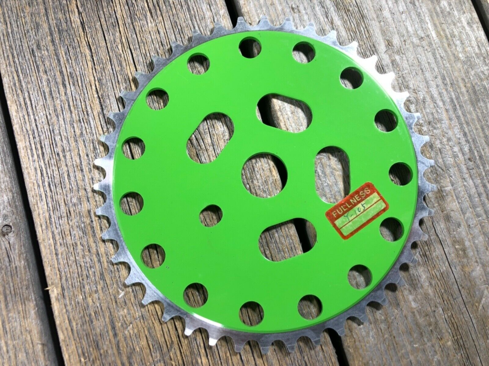OLD SCHOOL BMX CHAINRING 42T  ALLOY POWER DISC OLDSCHOOL BMX NOS GREEN OPC  we offer various famous brand