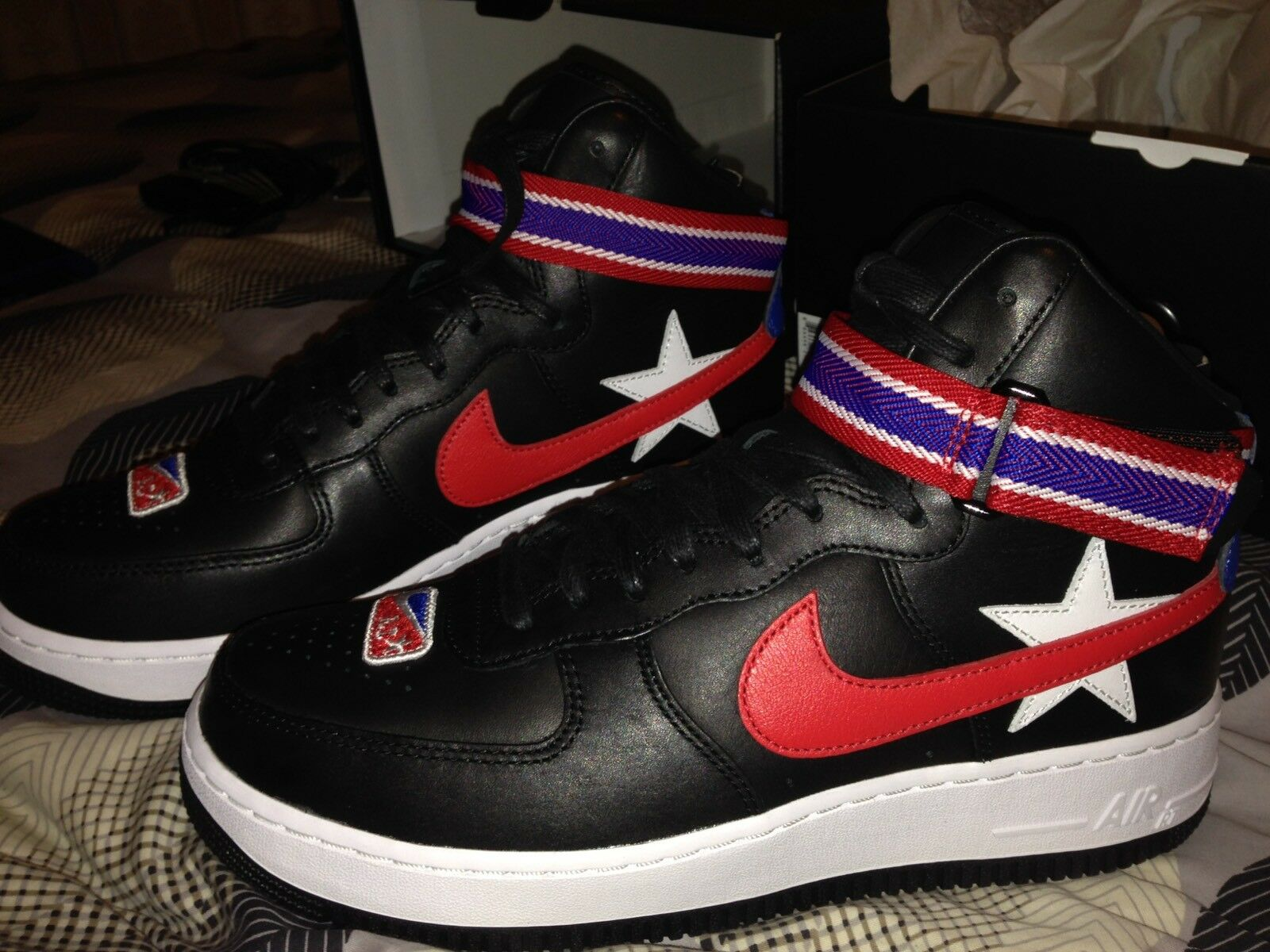 Nikelab Air Riccardo Force 1 High X Rt Riccardo Air Tisci Men's Shoe Size 8 Rare!!!! 81a6bf