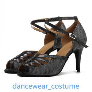 Ladies-Latin-Tango-Samba-Party-Ballroom-Salsa-Dance-Shoes-Heels-Sandals-EU-34-42