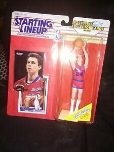 1993 Starting Lineup Tom Gugliotta Washington Bullets Kenner Basketball Figure