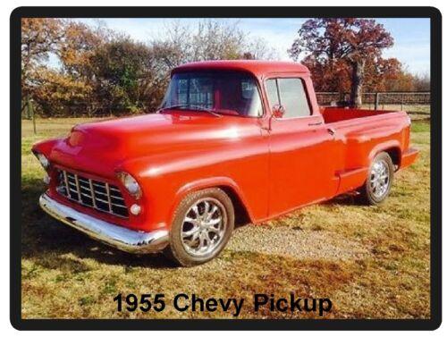 1955 Chevy Pickup  Refrigerator Tool Box Magnet  Man Cave