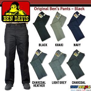 657aacab4e Ben Davis Mens Work Pants Original Ben s Cotton Heavy Weight Twill ...