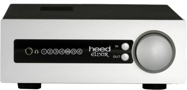 Heed Audio Elixir Integrated Amplifier with MM Phonostage - Black