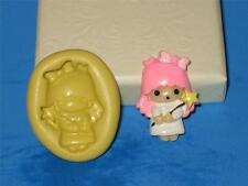 Baby angel girl silicone push mold A314 for candy craft chocolate Resin Clay