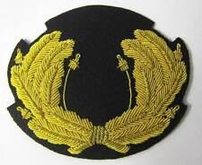 Nazi 1936 - 1937 Zeppelin Officer Wreath Cap Hat Badge Pre WW2 WWII German