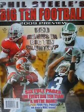 Phil Steele's 2009 Big 10 Football Preview Notre Dame Ohio State Michigan State