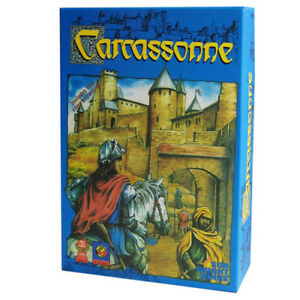 Carcassonne Card Game For Party Family Friend Easy To Play Board