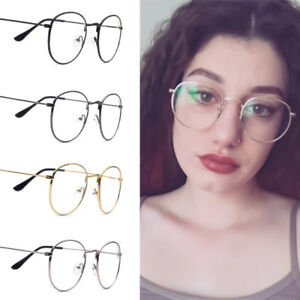 27062d873f4 Image is loading Spectacle-Frame-Glasses-Round-Clear-Lens-Optical-Women-