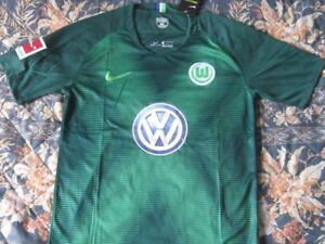 new concept b108b d0318 Detalles de Trikot Camiseta Shirt WOLFSBURG FC Season 2019 Size L