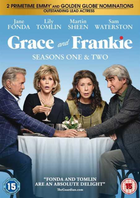 GRACE & FRANKIE SEASON 1 & 2 (DVD) (New)