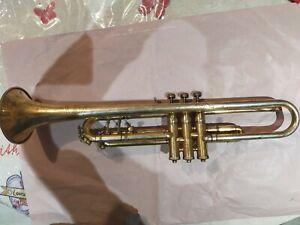 Trompette Buescher LP 2 early Aristocrat (équivalent à la Conn Vocabell 40B)