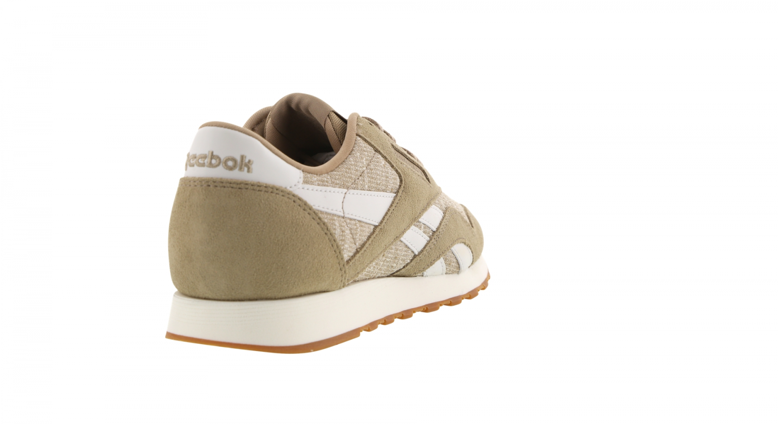 Womens Womens Womens REEBOK CL NYLON WR Canvas Chalk Casual Trainers BD5405 7ff717