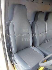 I-Semi-pour-un-FORD-TRANSIT-2006-Camionnette-SEAT-Housses-AIR-maille-S-D