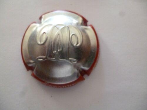 à saisir capsule DELABARRE NOUVELLE contour rouge estampée métal