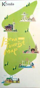 Korean Subway Map 2015.Details About New 2015 Korea Tourism Map Korea Tourist Org Subway Maps City Details